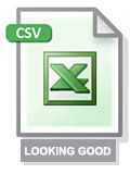 Download our Looking Good List in Excel Format