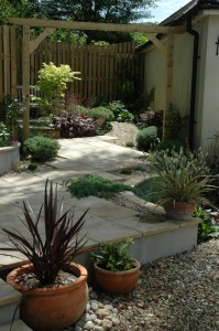 Garden featuring our plants and nursery stock