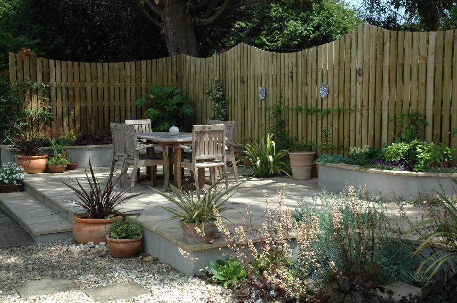 Alice Meacham Garden Design featuring nursery planting from Rainbow Plants